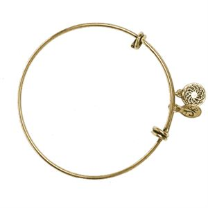 Picture of Gold Vintage Charm Bangle
